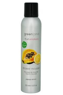 Мусс для душа, папайя-лимон Greenland