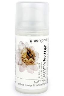 Крем для тела, цветки хлопка Greenland