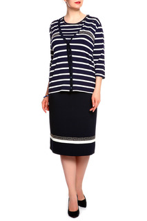 Комплект: блуза, жакет, юбка Elisa Fanti