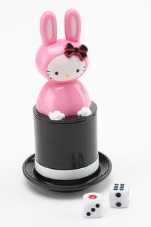 Превращение игральных костей Hello Kitty