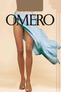 Чулки на кружевной резинке Omero