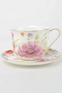 Пара чайная Коралл