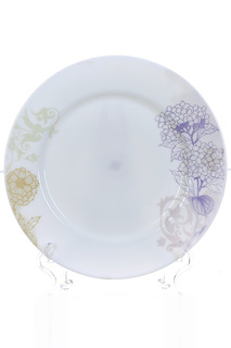 Тарелка столовая 6шт, 25 см Polystar