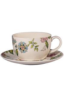 Чашка 400 мл с блюдцем 17 см Royal Porcelain