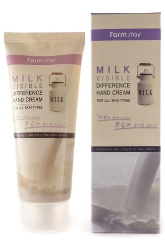 """Крем для рук """"Молоко"""" FARMSTAY"""