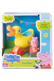 """Игровой набор """"Каталка Уточка"""" Peppa Pig"""
