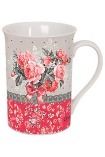 """Чайная кружка """"Букет роз"""" ORVAL"""