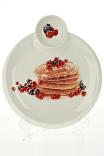 Блюдо для блинов 24,5х28х3 см Best Home Porcelain