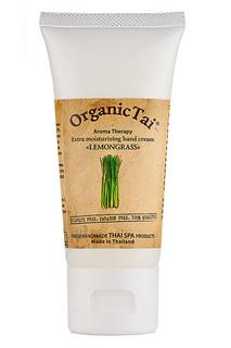 Крем для рук Лемонграсс, 60 мл Organic Tai