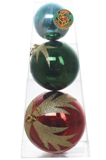 Набор шаров, 9-7-5 см Monte Christmas