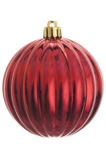 Шар новогодний, 4шт, 8 см Monte Christmas