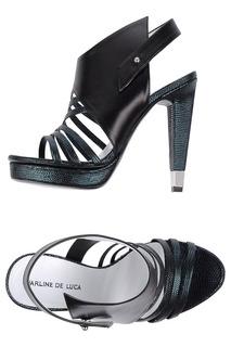 босоножки на каблуках CHARLINE DE LUCA