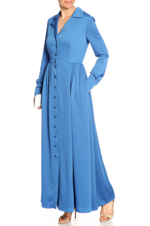 Платье макси, пуговицы NATALIA PICARIELLO