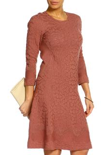 Платье с длинным рукавом Salvatore Ferragamo
