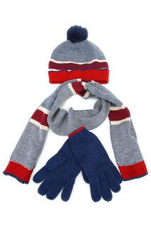 Шарф, шапка, перчатки Marks & Spencer
