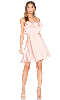 Ruffled fit and flare dress - Endless Rose