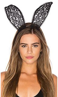 Lace bunny ears - fleur du mal