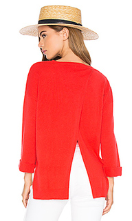 High low open back sweater - Autumn Cashmere