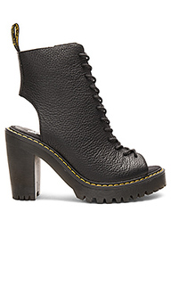 Carmelita open heel lace up boot - Dr. Martens