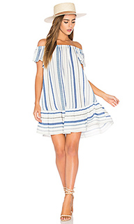 Off shoulder stripe dress - Eight Sixty
