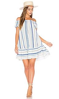 Off shoulder stripe dress - Eight Sixty