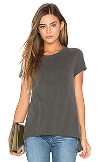 Shrunken side slit tee - Wilt