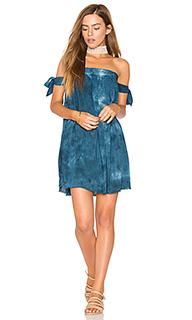 Платье со спущенными плечами - Blue Life