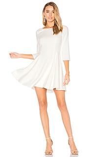 Платье с глубоким декольте - Halston Heritage