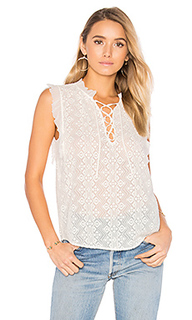 Sleeveless florence embroidered top - Rebecca Taylor