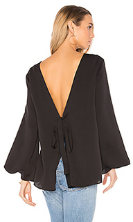 Deep v back top - Halston Heritage