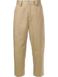 укороченные брюки Stussy
