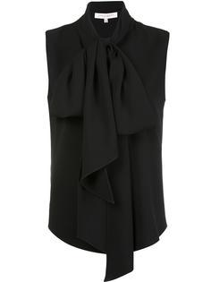 блузка с завязками на горловине Carolina Herrera