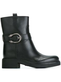 ботинки по щиколотку с пряжкой Gucci