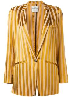 блузка с плиссированной панелью Forte Forte