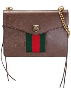 сумка через плечо с деталью в полоску Gucci
