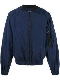 куртка-бомбер на молнии  MSGM