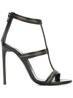 zip detail sandals Tom Ford