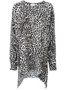 блузка с леопардовым принтом   Faith Connexion