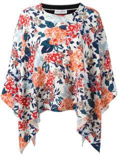свитер с цветочным принтом   Sonia Rykiel