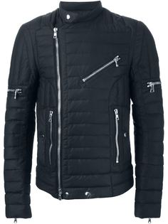 байкерская куртка  Balmain