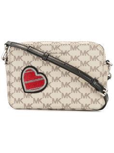 сумка через плечо с принтом логотипа Michael Michael Kors