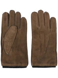 перчатки с видным швом Orciani