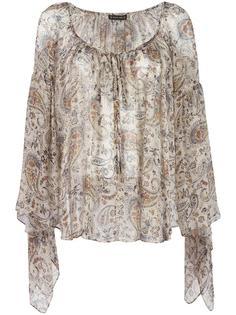 блузка с цветочным узором Plein Sud
