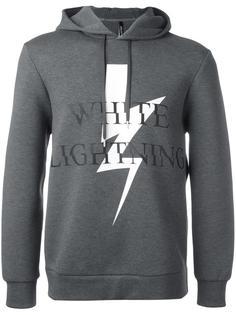 White Lightning hoodie Neil Barrett