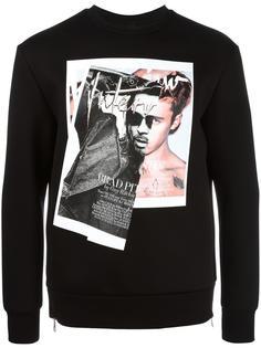 Brad Bieber sweatshirt Neil Barrett