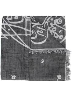 bleach print scarf  Thamanyah