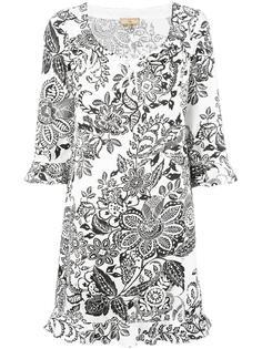 платье с цветочным принтом Fay