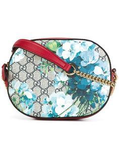сумка через плечо с цветочным принтом Gucci