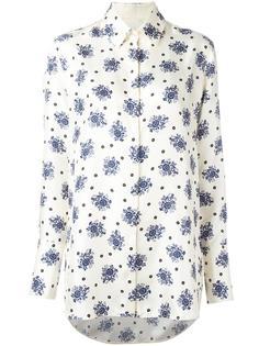 floral print shirt Victoria Victoria Beckham