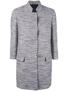 однобортное пальто Fay